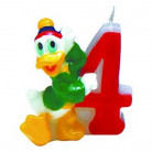Bougie chiffre 4 Mickey Clubhouse™