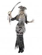 Déguisement fantôme pirate effrayant femme Halloween