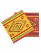 Vous aimerez aussi : 12 Serviettes en papier Mexicaines 33 x 33 cm