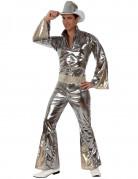 Vous aimerez aussi : Déguisement disco argenté brillant homme