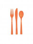 Vous aimerez aussi : Couverts en plastique orange