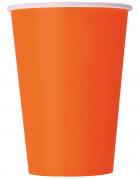 Vous aimerez aussi : 8 Gobelets en carton orange 25 cl