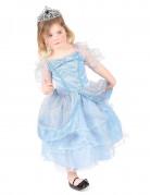 Déguisement princesse enfant bleu clair
