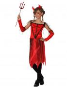 Déguisement diablesse classique fille Halloween