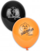 Vous aimerez aussi : 12 Ballons noirs et orange Halloween