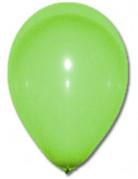 100 Ballons verts 27 cm