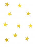 10 Mini miroirs étoiles dorées 3 x 3 cm