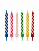 Vous aimerez aussi : 12 Bougies multicolores