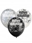 Vous aimerez aussi : Ballons gris Happy Birthday