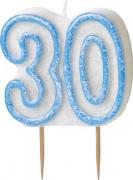 Vous aimerez aussi : Bougie Age 30 ans bleu