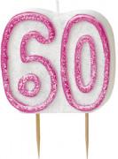 Vous aimerez aussi : Bougie Age 60 ans rose
