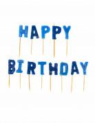 Vous aimerez aussi : Bougies Happy Birthday bleues