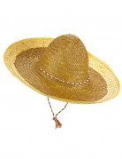 Sombrero mexicain jaune adulte