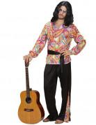 Déguisement hippie seventies homme