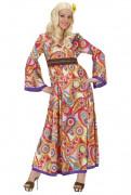 Déguisement hippie long femme
