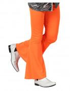 Pantalon disco orange homme