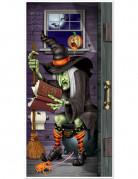 Décoration de porte sorcière aux toilettes 76 x 152 cm