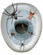 Vous aimerez aussi : Décoration autocollante pour wc Araignées 30 x 43 cm