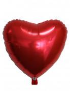 Ballon aluminium coeur rouge 45 cm Saint Valentin