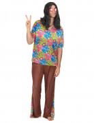 Déguisement hippie pantalon evasé homme