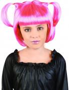 Vous aimerez aussi : Perruque à couettes rose fille