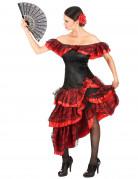 Vous aimerez aussi : Déguisement danseuse de flamenco femme rouge et noir
