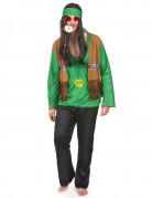 Vous aimerez aussi : Déguisement hippie homme vert et noir