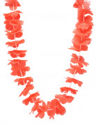 Collier hawaï rouge