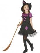 Vous aimerez aussi : Déguisement sorcière violette avec chapeau fille