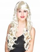 Vous aimerez aussi : Perruque glamour longue blonde avec boucles femme