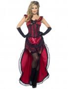 Vous aimerez aussi : Déguisement danseuse saloon sexy rouge femme