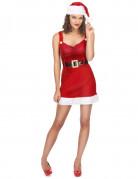 Déguisement Mère Noël sexy avec sa ceinture