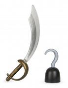 Kit épée et crochet de pirate