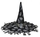 Vous aimerez aussi : Chapeau sorcière noir et gris Halloween