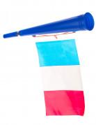 Trompette football avec drapeau France
