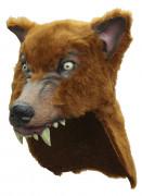 Vous aimerez aussi : Casque loup marron adulte