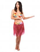 Vous aimerez aussi : Jupe hawaïenne courte rose adulte