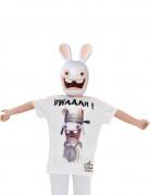 T-shirt et masque Lapins Crétins™ enfant