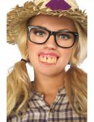 Dentier grande dents