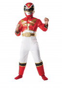 Déguisement rembourré Power Rangers Megaforce™ rouge garçon