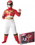 Coffret déguisement rembourré Power Rangers Megaforce™ rouge garçon
