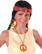 Vous aimerez aussi : Boucles d'oreilles et pendentif Hippie orange