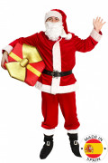 Déguisement Père Noël super luxe adulte