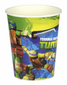 Lot de 8 gobelets en carton Tortues Ninja™