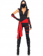 Déguisement ninja noir sexy femme