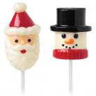 Moules pour shamallow Père Noël et bonhomme de neige