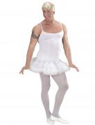Déguisement danseuse étoile blanche homme