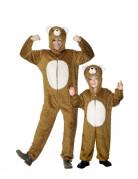 Déguisement de couple ours père et fils