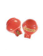 Gants boxe rouges gonflables