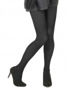 Collants opaques noirs adulte